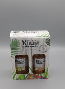 Rhum Arrangé Ananas et Mangue Passion 2x 35 cl
